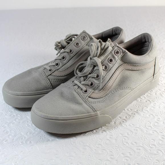 b5ced3cddf952b Vans Gray Sparkle Glitter Sole Sneakers sz 7.5. M 5b0e0a3adaa8f62534ab10b6